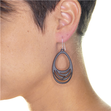 "Earrings ""Stripes"""