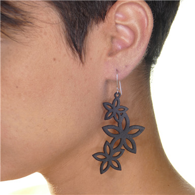 "Earrings ""Plumeria"""